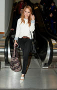Debby Ryan at LAX AIrport 03/30/13