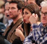 Jamie Lynn Sigler @ Knicks game, December 15, 2010
