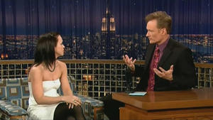 Christina Ricci - Late Night with Conan O'Brien (2007)