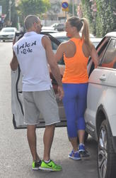 Bar Refaeli - Booty in tights while leaving the gym in Tel Aviv - 05/21/13 | 5 HQs