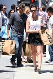 Odette Yustman   Shopping in LA   August 4   15 leggy pics