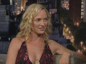 Uma Thurman - Late Show with David Letterman (2006)