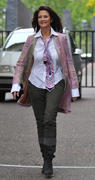 Lynda Carter- Leaving ITV Studios in London 09/14/10- 5 HQ