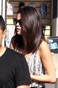 Selena Gomez - The Calabasas Commons - February 23, 2012