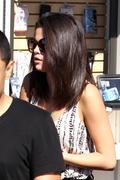Selena Gomez - The Calabasas Commons - February 23, 2012