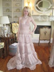 Dakota Fanning Looking Nice in an Elegant Dress